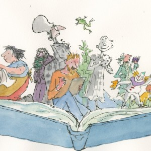 quentin blake compton verney exhibition illustration