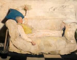 shabby chic portrait british female artist