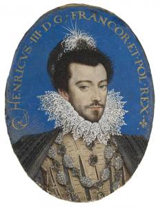 Henri iii france hilliard miniature