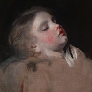 Joshua Reynolds Asleep Childhood
