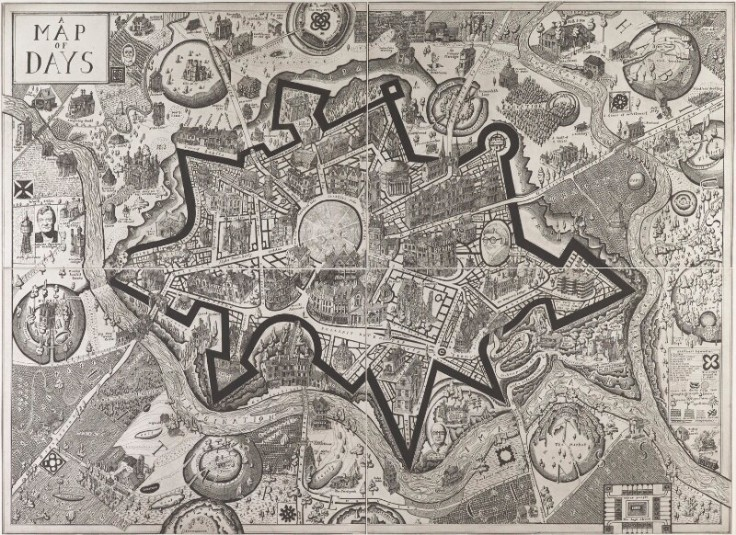 grayson perry map of days
