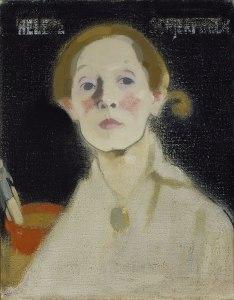 Finnish Self Portrait expressionism