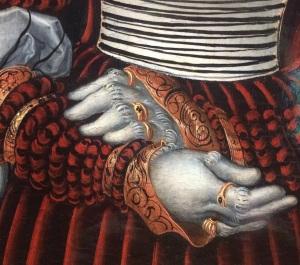 rings gloves costume